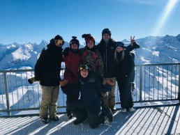 Snowboard lessons Verbier